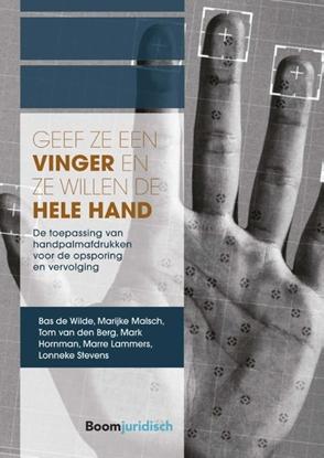 Afbeeldingen van A-LAB (Amsterdam Institute for Law and Behavior) Geef ze een vinger en ze willen de hele hand
