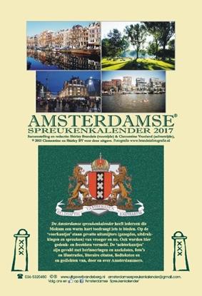 Afbeeldingen van Amsterdamse spreukenkalender 2017