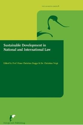 Afbeeldingen van Avosetta Series Sustainable development in national and international law