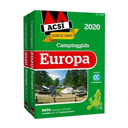 Afbeeldingen van ACSI Campinggids ACSI Campinggids Europa 2020