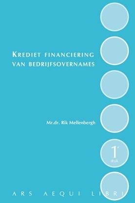 Afbeeldingen van Ars Aequi Wetseditie Kredietfinanciering van bedrijfsovernames