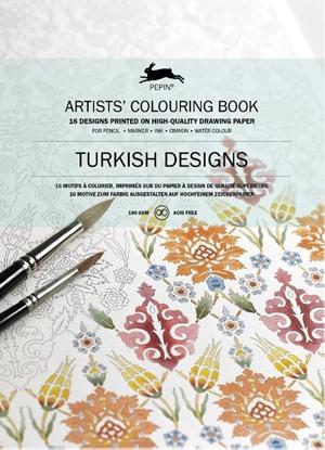 Afbeeldingen van Artists colouring book Turkish designs