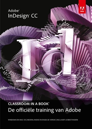 Afbeeldingen van Adobe indesign CC classroom in a book