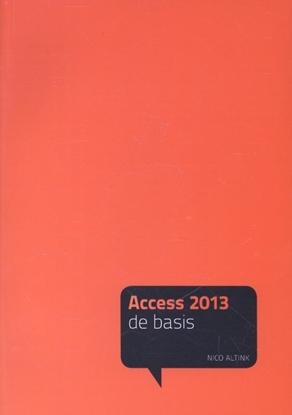 Afbeeldingen van Acces 2013 De basis