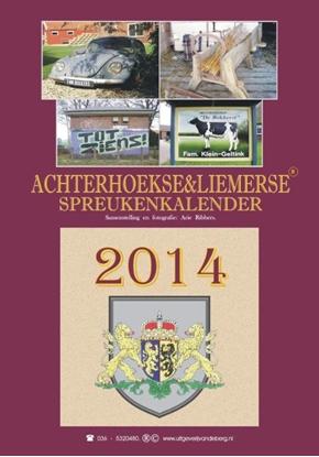 Afbeeldingen van Achterhoekse & Liemerse spreukenkalender 2014