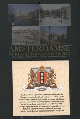 Afbeeldingen van Amsterdamse spreukenkalender 2013