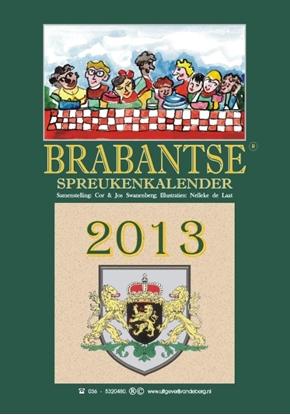 Afbeeldingen van Brabantse spreukenkalender 2013