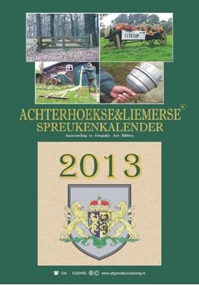 Afbeeldingen van Achterhoekse & liemerse spreukenkalender 2013