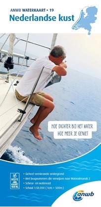 Afbeeldingen van ANWB waterkaart Nederlandse Kust