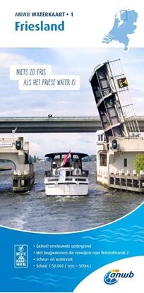 Afbeeldingen van ANWB waterkaart Friesland