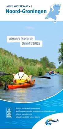 Afbeeldingen van ANWB waterkaart Noord-Groningen