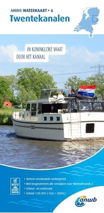 Afbeeldingen van ANWB waterkaart Twentekanalen