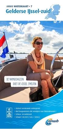 Afbeeldingen van ANWB waterkaart Gelderse IJssel-zuid