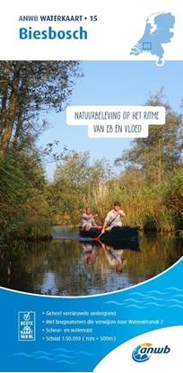 Afbeeldingen van ANWB waterkaart Biesbosch
