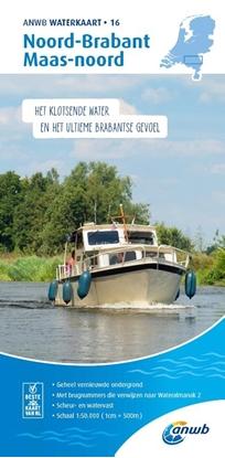 Afbeeldingen van ANWB waterkaart Noord-Brabant/ Maas-Noord