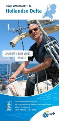 Afbeeldingen van ANWB waterkaart Hollandse Delta