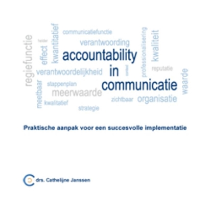 Afbeeldingen van Communicatie memo's Accountability in communicatie