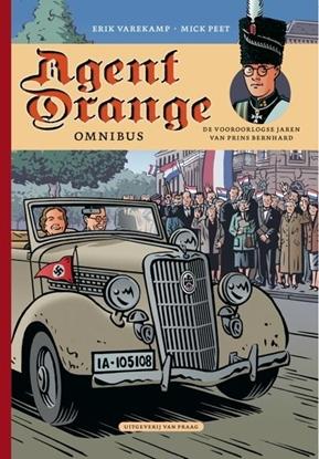 Afbeeldingen van Agent Orange Omnibus Bevat: De jonge jaren van prins Bernhard - Het huwelijk van prins Bernhard