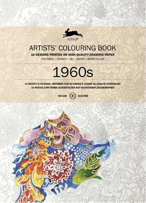 Afbeeldingen van 1960S Artists colouring book