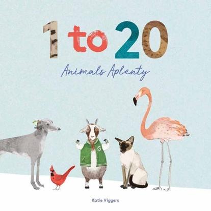 Afbeeldingen van 1 to 20 Animals Aplenty