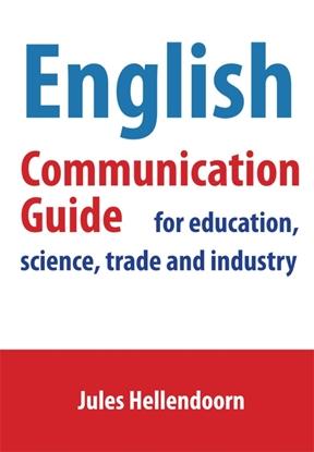 Afbeeldingen van English communication guide for education, science, trade and industry