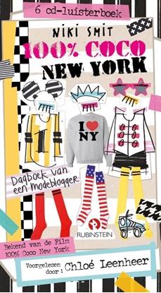 Afbeeldingen van 100% Coco 100% Coco New York 6 CD Luisterboek