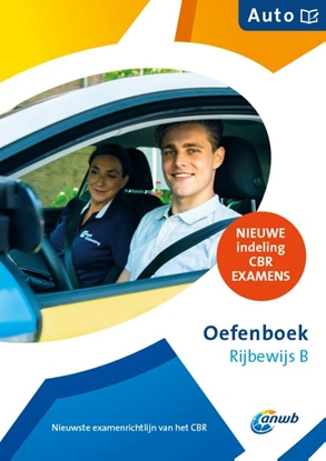 Afbeeldingen van ANWB rijopleiding Oefenboek Rijbewijs-B Auto