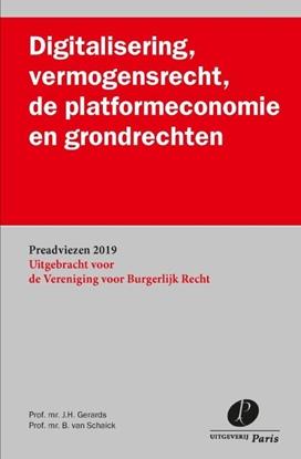 Afbeeldingen van Preadviezen VBR Digitalisering, vermogensrecht, de platformeconomie en grondrechten