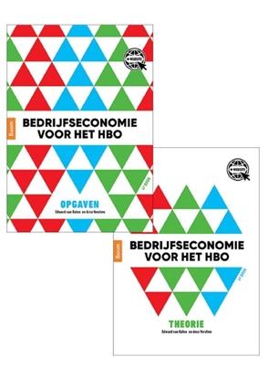 Afbeeldingen van Bedrijfseconomie voor het hbo, theorie- en opgavenboek