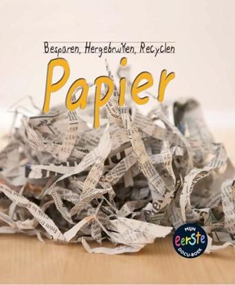 Afbeeldingen van Besparen, hergebruiken, recyclen Papier