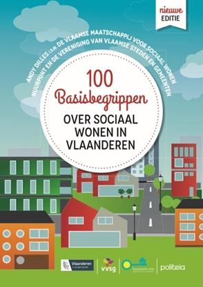 Afbeeldingen van 100 basisbegrippen over sociaal wonen in Vlaanderen