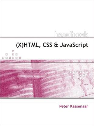 Afbeeldingen van Handboek (X)HTML, CSS en JavaScript