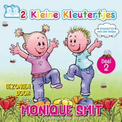 Afbeeldingen van 2 Kleine Kleutertjes deel 2, Monicue en Jan Smit CD + Boek