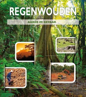 Afbeeldingen van Aarde in gevaar Regenwouden