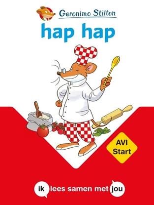 Afbeeldingen van AVI-boeken hap hap