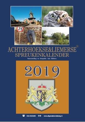 Afbeeldingen van Achterhoekse & Liemerse Spreukenkalender 2019