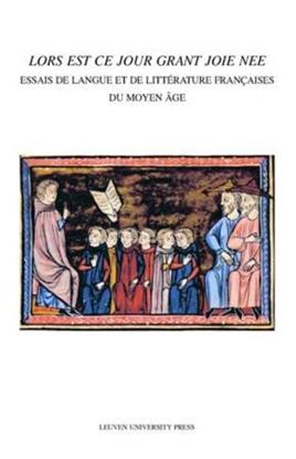 Afbeeldingen van Mediaevalia Lovaniensia - Series 1/Studia Lors est ce jour grant joie nee