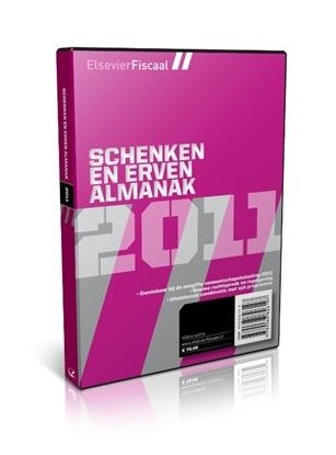 Afbeeldingen van Elsevier Fiscaal Schenken en Erven Almanak 2011