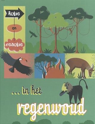 Afbeeldingen van Actie en reactie Actie en reactie in het regenwoud