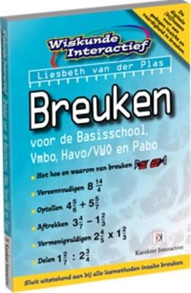 Afbeeldingen van Wiskunde Interactief Breuken voor de Basisschool, Vmbo, Havo/Vwo en Pabo