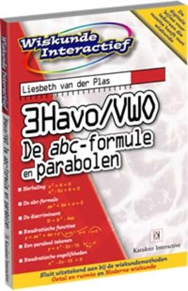 Afbeeldingen van Wiskunde interactief 3Havo/Vwo De abc-formule en parabolen