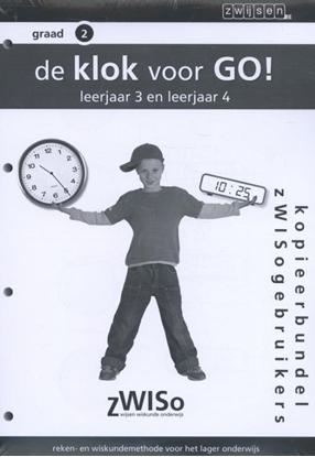 Afbeeldingen van Klok voor go! graad 2 leerjaar 3 en 4 Kopieerbundel zWISogebruikers