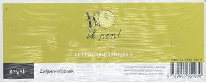 Afbeeldingen van Ik pen! 1 Letterlijnkaartjes