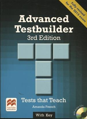 Afbeeldingen van Advanced Testbuilder 3rd edition Student's Book with key Pac