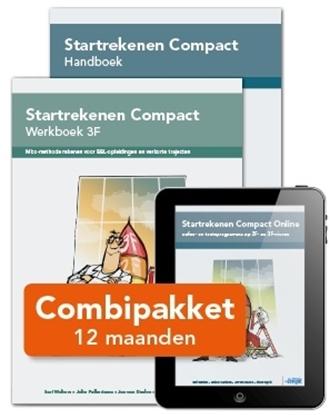 Afbeeldingen van Combipakket Startrekenen Compact 3F HWL12 folioset-ECK