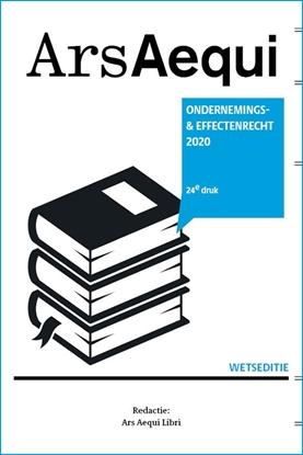 Afbeeldingen van Ars Aequi Wetseditie Ondernemings- & effectenrecht 2020