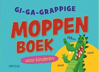Afbeeldingen van Gi-ga-grappige moppenboek voor kinderen Set 3 ex.