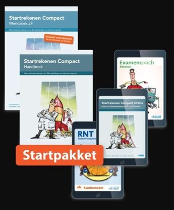 Afbeeldingen van Combipakket Startrekenen Compact 2F HWL12 folioset-ECK