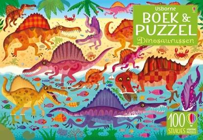 Afbeeldingen van Dinosaurussen Boek & puzzel
