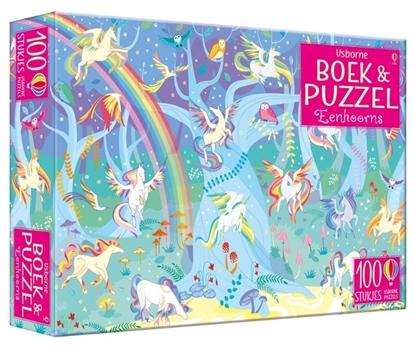 Afbeeldingen van Boek & Puzzel Eenhoorns